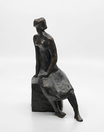 Seated Figure by Sybil Kennedy