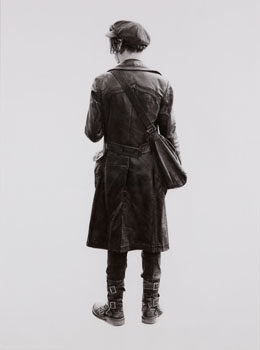 Untitled (Androgynous buckle boy) by Brian Boulton