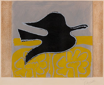 Untitled, from L'ordre des oiseaux by Georges Braque