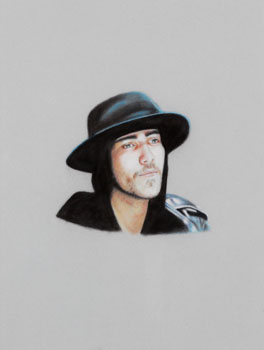 Justin Bobby with Hood and Hat by Karin Bubas