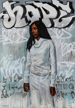 Woman in White - Hope by Tim Okamura