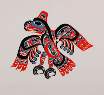 Haida Thunderbird by William Ronald (Bill) Reid