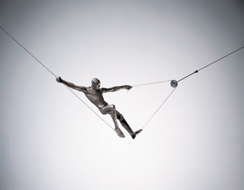 Suspended Figure by David Robinson