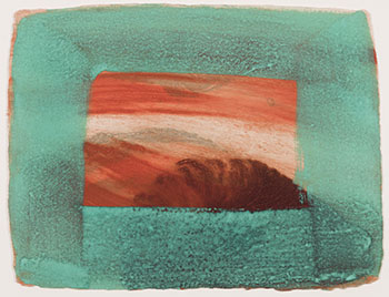 After Degas by Howard Hodgkin