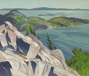 From the Heights, Baie Fine by Alfred Joseph (A.J.) Casson