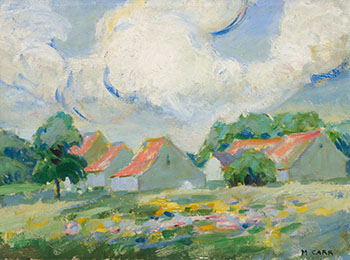 Stormy Day, Brittany by Emily Carr
