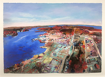 Penetanguishene From Above by John Hartman