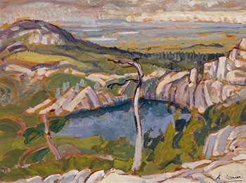 Georgian Bay Pool by Arthur Lismer