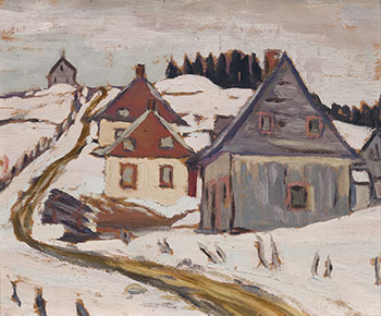 St. Irénée, Que., Near Murray Bay by Sir Frederick Grant Banting