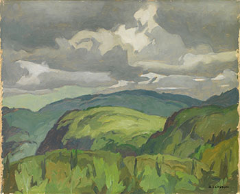 South Portage Road  / Hills Near Dwight by Alfred Joseph (A.J.) Casson