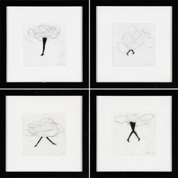 A Set of Four Drawings par Cathy Daley