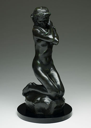 Jeune fille au serpent by Auguste Rodin