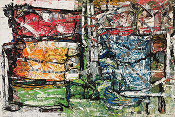 Chez naturel by Jean Paul Riopelle