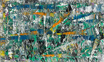 Untitled (PM 47) by Jean Paul Riopelle