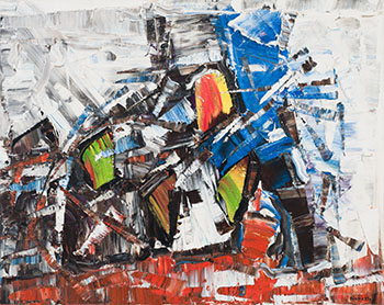 Snow Goose by Jean Paul Riopelle