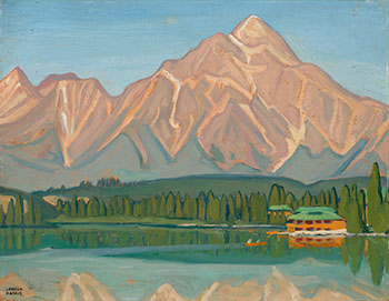 Pyramid Mt., Jasper Park by Lawren Stewart Harris