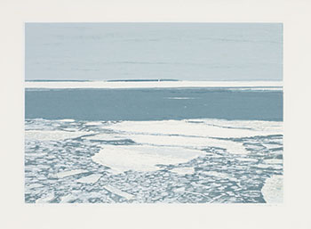 Ice Flows, NS II by Gordon Appelbe Smith