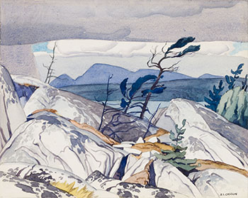 La Cloche Channel by Alfred Joseph (A.J.) Casson