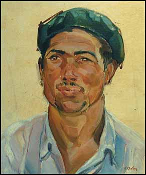 Basque Fisherman by Kathleen Frances Daly Pepper