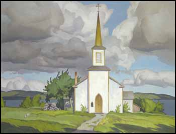 St. Paul's Anglican Church, Manitowaning, Manitoulin Island, Built 1845 by Alfred Joseph (A.J.) Casson