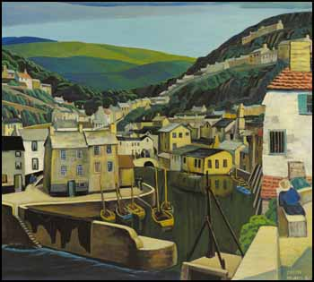 Cornwall by Muriel Yvonne McKague Housser