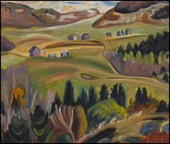 Landscape by Efa Prudence Heward