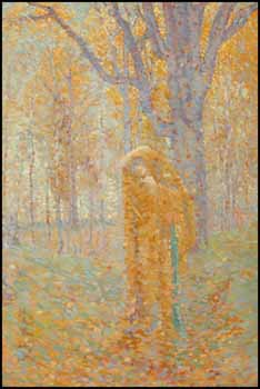 Figure in the Woods by Lionel Lemoine FitzGerald