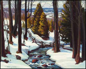 Winter Stream by Frederick Stanley Haines