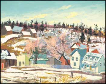 View of Perkins, Quebec by Henri Leopold Masson