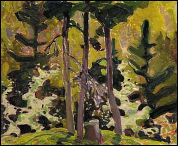 Wild Cherry Blossom by Franklin Carmichael