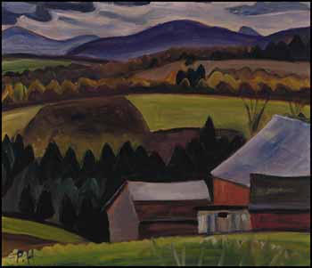 Near Cowansville, Quebec by Efa Prudence Heward
