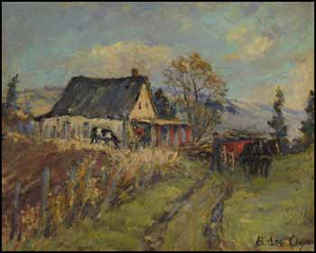 Val Morin, Late Autumn Afternoon by Berthe Des Clayes