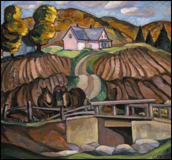Autumn, Eastern Townships by Nora Frances Elizabeth Collyer