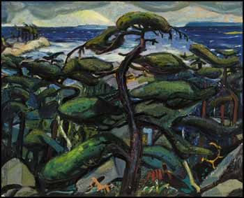 Dark Pine, Georgian Bay by Arthur Lismer