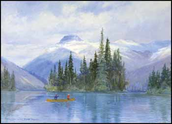 Vermilion Lake, Banff, NWT [sic] by Frederic Marlett Bell-Smith