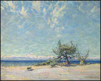 A Sandy Beach, Lake Ontario by James Edward Hervey (J.E.H.) MacDonald