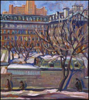Sherbrooke Street West, near Atwater Avenue by Nora Frances Elizabeth Collyer