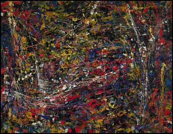 Sans titre (Composition #2) by Jean Paul Riopelle