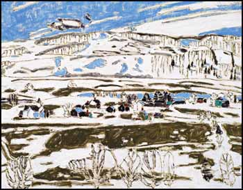 White Cloud, Boston Corners by David Brown Milne