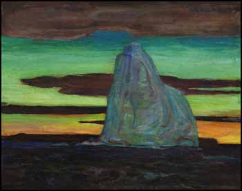 Arctic Night by Frederick Horsman Varley