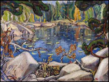 Reflections, Georgian Bay by Arthur Lismer