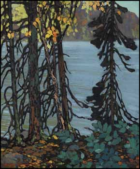 Autumn Tangle by Frank Hans (Franz) Johnston