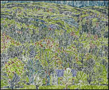 Green Hillside, Boston Corners, NY by David Brown Milne