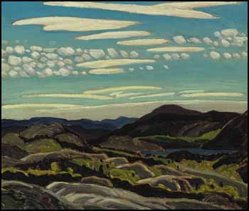 September, Mount Carmichael by Franklin Carmichael