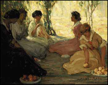 Afternoon Picnic by Henrietta Mabel May