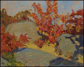 Rock and Maple 2 by James Edward Hervey (J.E.H.) MacDonald