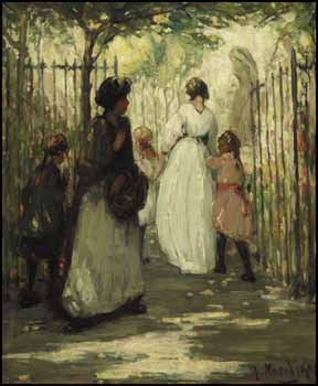 Entrance to the Garden by Henrietta Mabel May