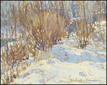 Winter Landscape with Trees by Lionel Lemoine FitzGerald