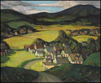 Happy Valley, on the Road Near Ottawa by Henrietta Mabel May