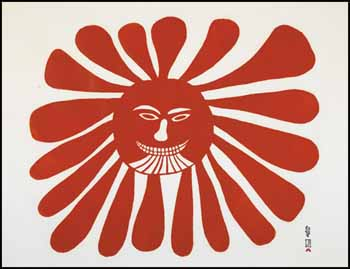 The Woman Who Lives in the Sun by Kenojuak Ashevak